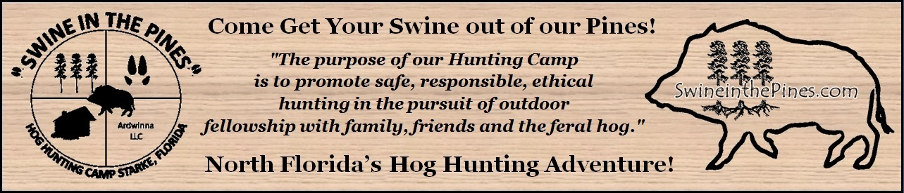 Swine in the Pines - Northeast Florida Hog Hunting - Guided Hunts - Feral Hogs/Pigs - Florida Boar Hunts
