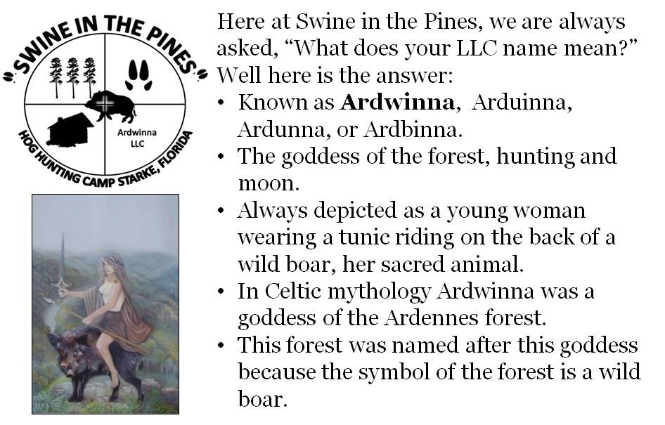 Ardwinna LLC - Swine In The Pines