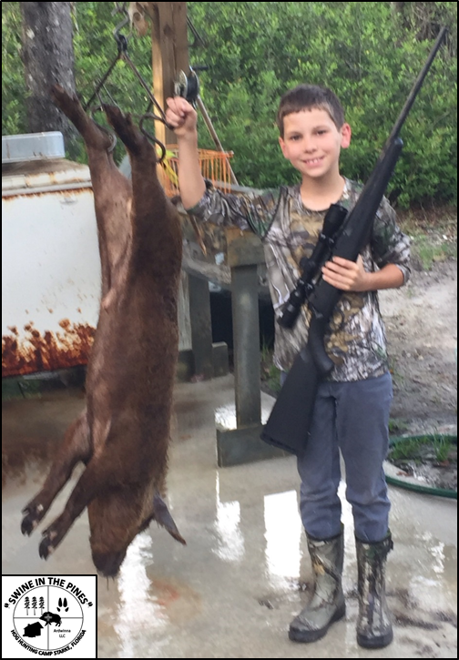 This nice Wild Boar taken April 17th at Swine In The Pines in Starke, Florida