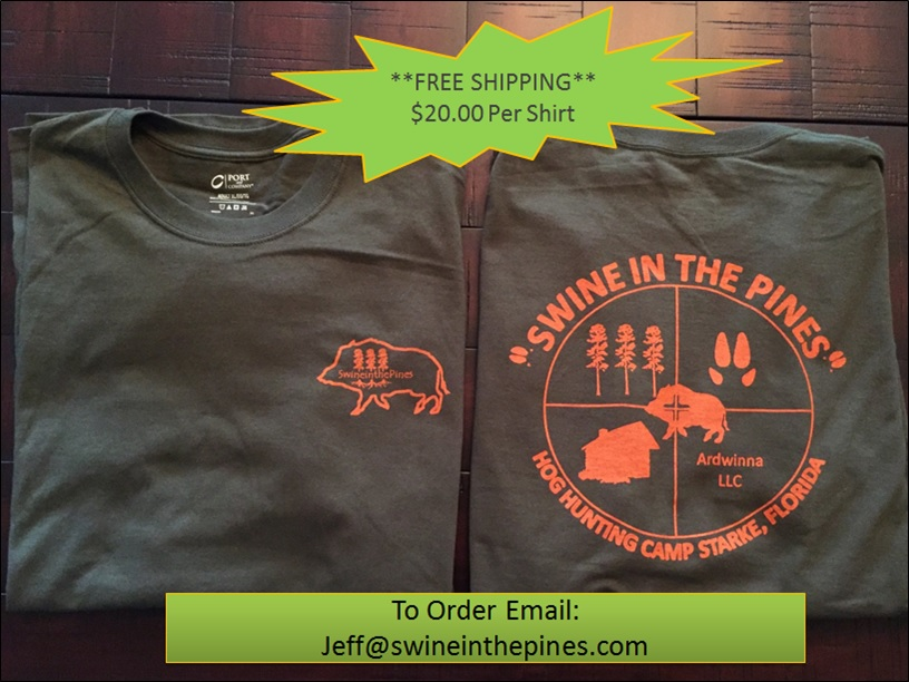 Swine In The Pines T-Shirts