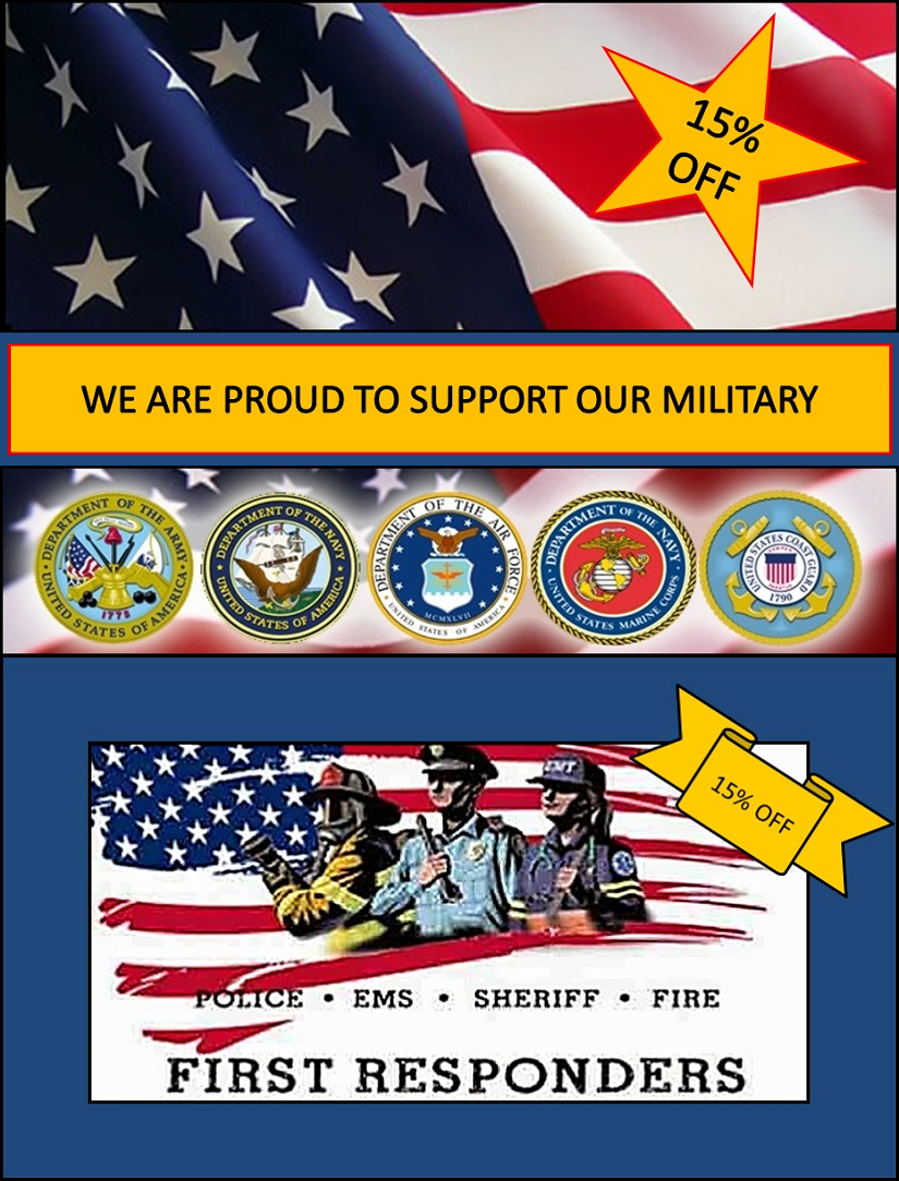 Swine In The Pines - Proudly Supports our Military & First Responders